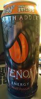 Death adder, fruit punch flavored energy drink, lemon - Product - en