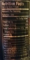 Venom Death Adder energy fruit punch - Nutrition facts