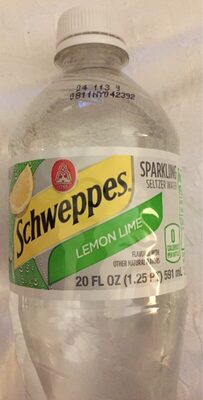 Schweppes limon lime - Product - fr