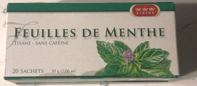 Peppermint Leaves Herbal Tea - Produit