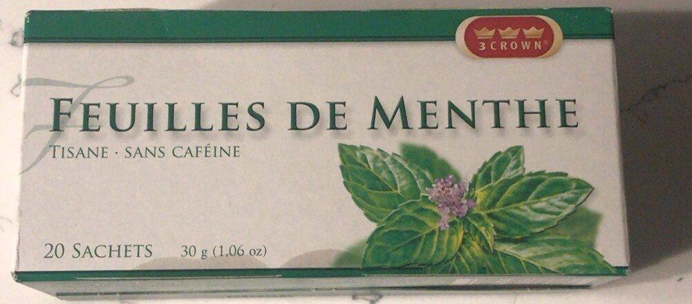 Peppermint Leaves Herbal Tea - Produit - en