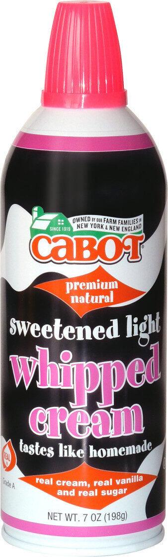 Sweetened Light Whipped Cream - Product - en
