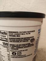 Plain non fat yogurt - Ingredientes - en