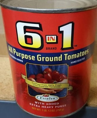 All purpose ground tomatoes - Product - en