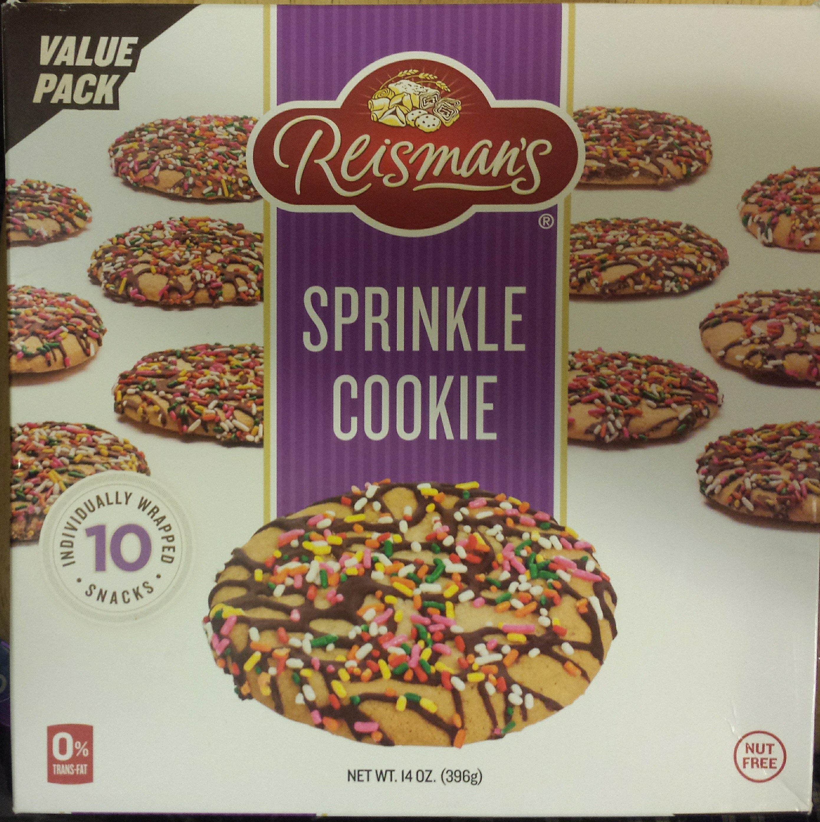 Sprinkle Cookie (10 pack) - Product - en