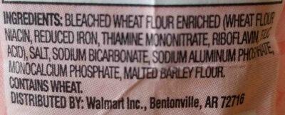 Self-rising flour - Ingredients - en