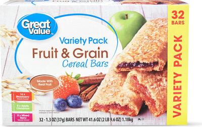 Fruit & grain bars - Prodotto - en