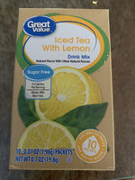Iced Tea With Lemon, Lemon - Product