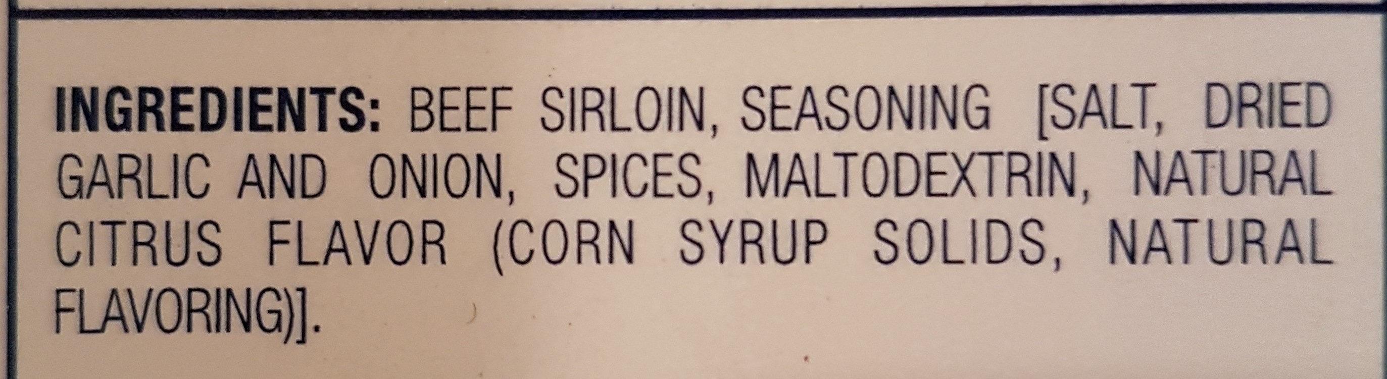 Sirloin Philly Steak - Ingrédients