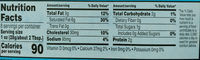 Cream Cheese - Nutrition facts - en