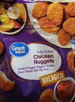 Chicken nuggets - Produit - en