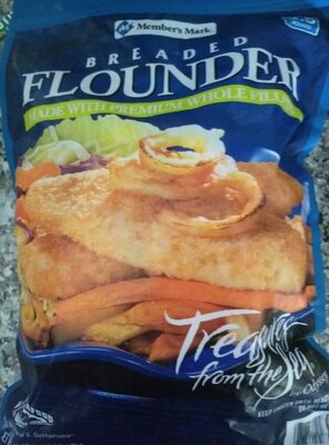 Breaded Flounder - Product