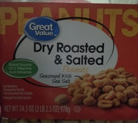 Dry rosted peanuts - Product - en