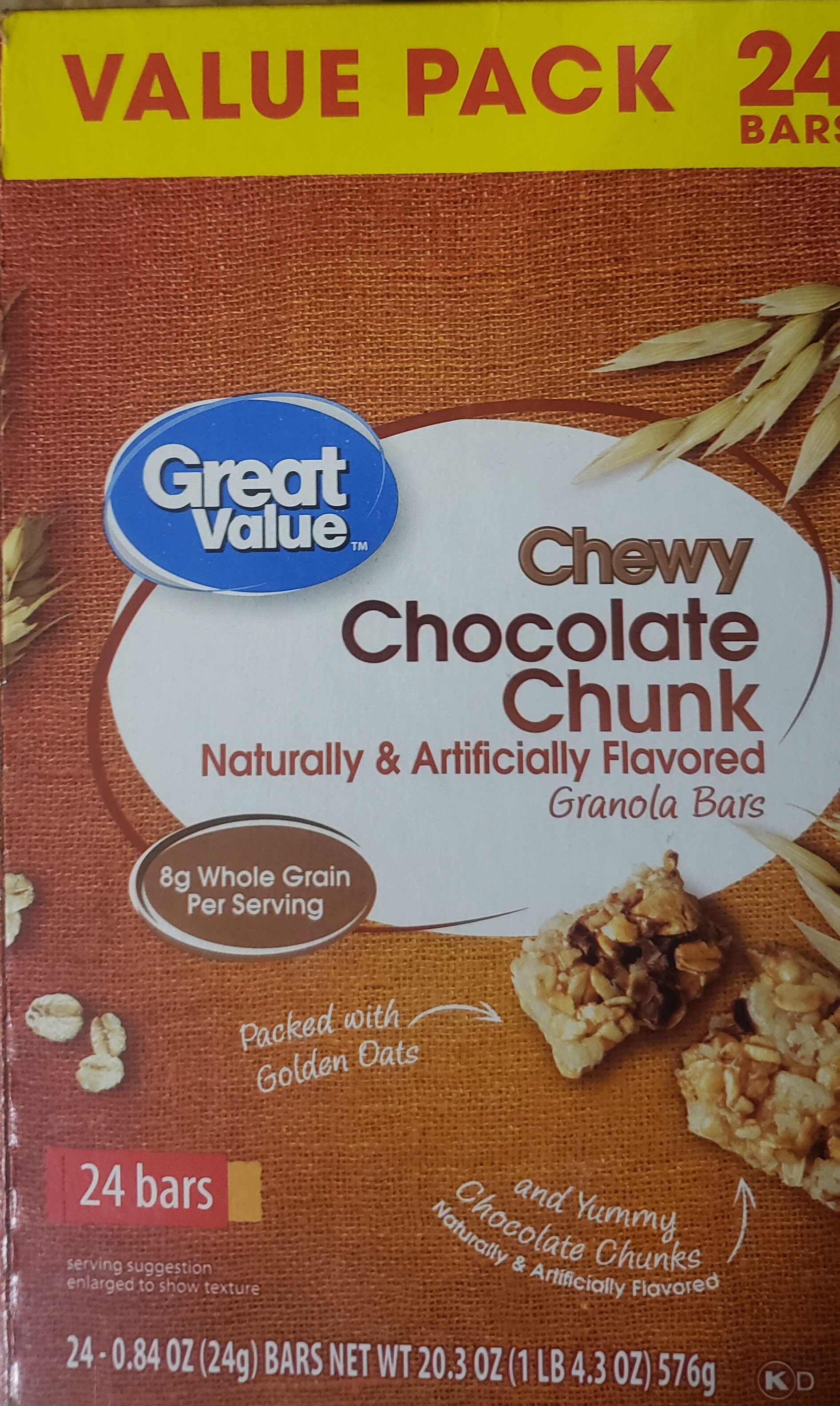 90 Calorie Chewy Granola Bars - Product