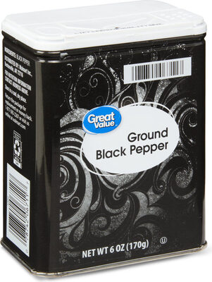 Ground black pepper - Product - en