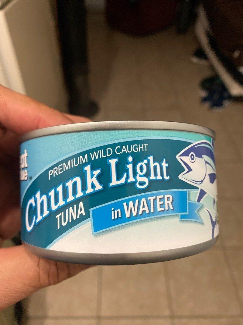 Chunk Light Tuna In Water - Product