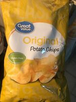 Original Potato Chips - Nutrition facts