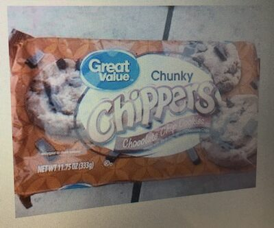 Chunky chippers chocolate chip cookies - Product