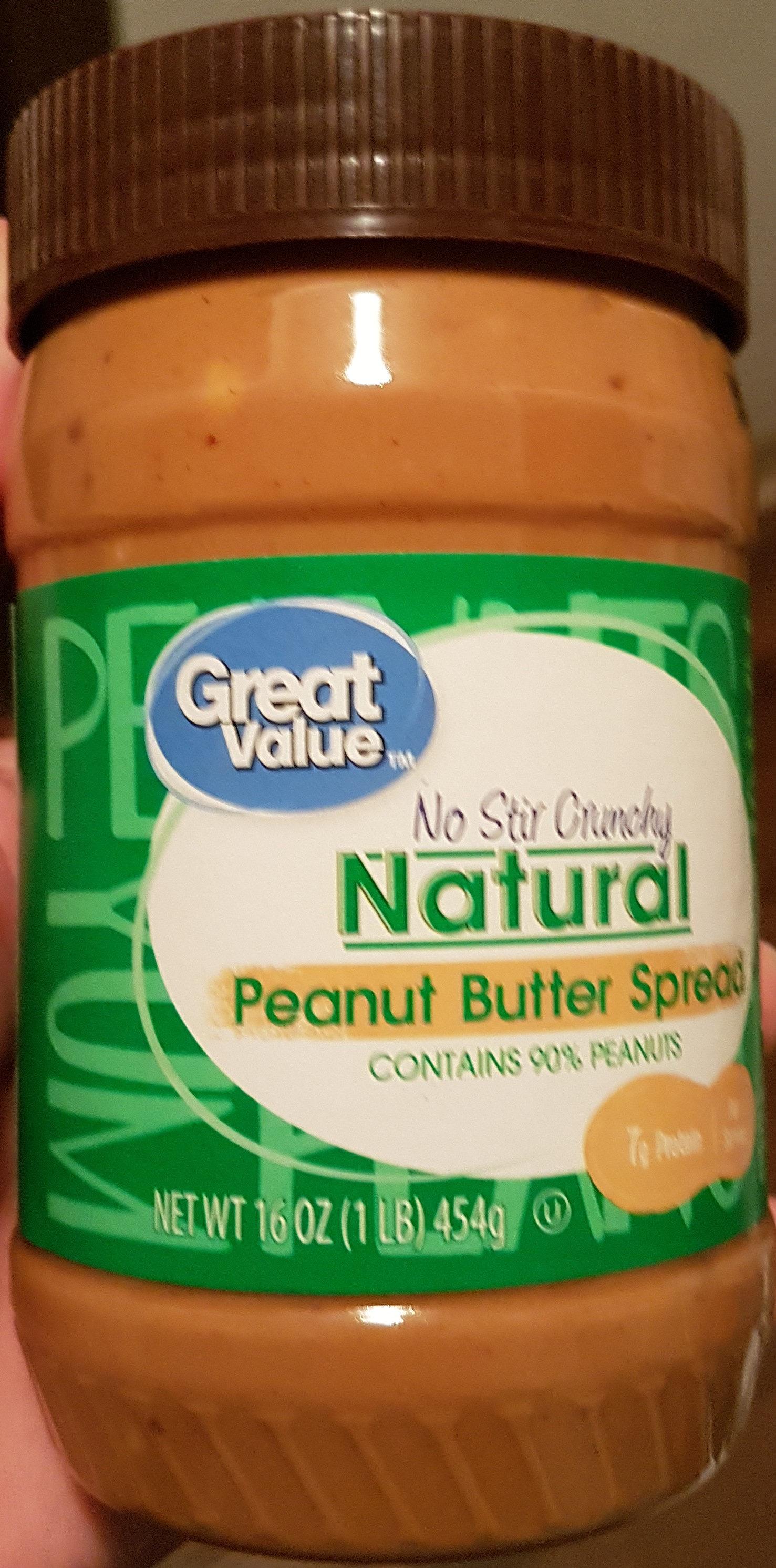 Natural Peanut Butter Spread - Product - en