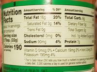 Natural Peanut Butter Spread - Ingredients - en