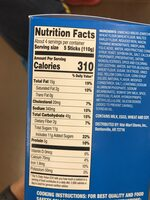 Original French Toast Sticks - Nutrition facts