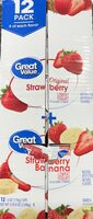 Original Strawberry - Strawberry Banana Lowfat Yogurt - Product