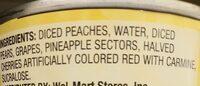 Fruit cocktail - Ingredients - en