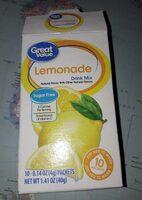 Lemonade drink mix - Product