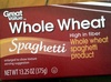 Whole Wheat Spaghetti - Product
