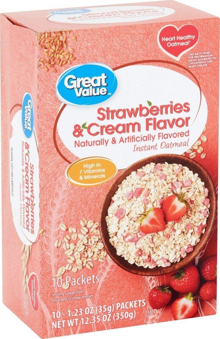 Instant Oatmeal - Product - en