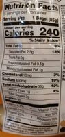 Double Cheese Please Bagel - Nutrition facts