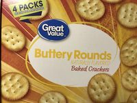 Baked Buttery Crackers, Naturally Flavored - Product