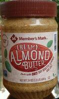 Creamy almond butter - Product - en