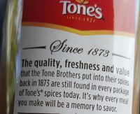 Cannelle en poudre - Ingredients