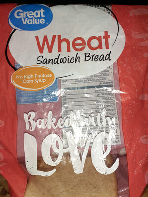 Wheat Sandwich Bread - Produkt - en