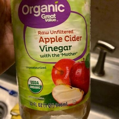 Apple cider vinegar with mother's - Product