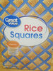 rice squares - Product