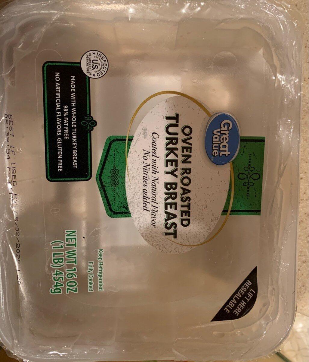 Oven roasted turkey breast - Product - en