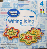 Writing Icing - Product
