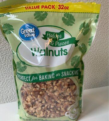 Walnuts halves & pieces - Product - en