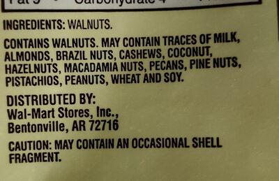 Walnuts halves & pieces - Ingredients - en