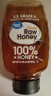 Clover raw honey - Produit - en