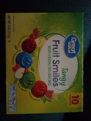 GV tangy fruit smiles - Product - en
