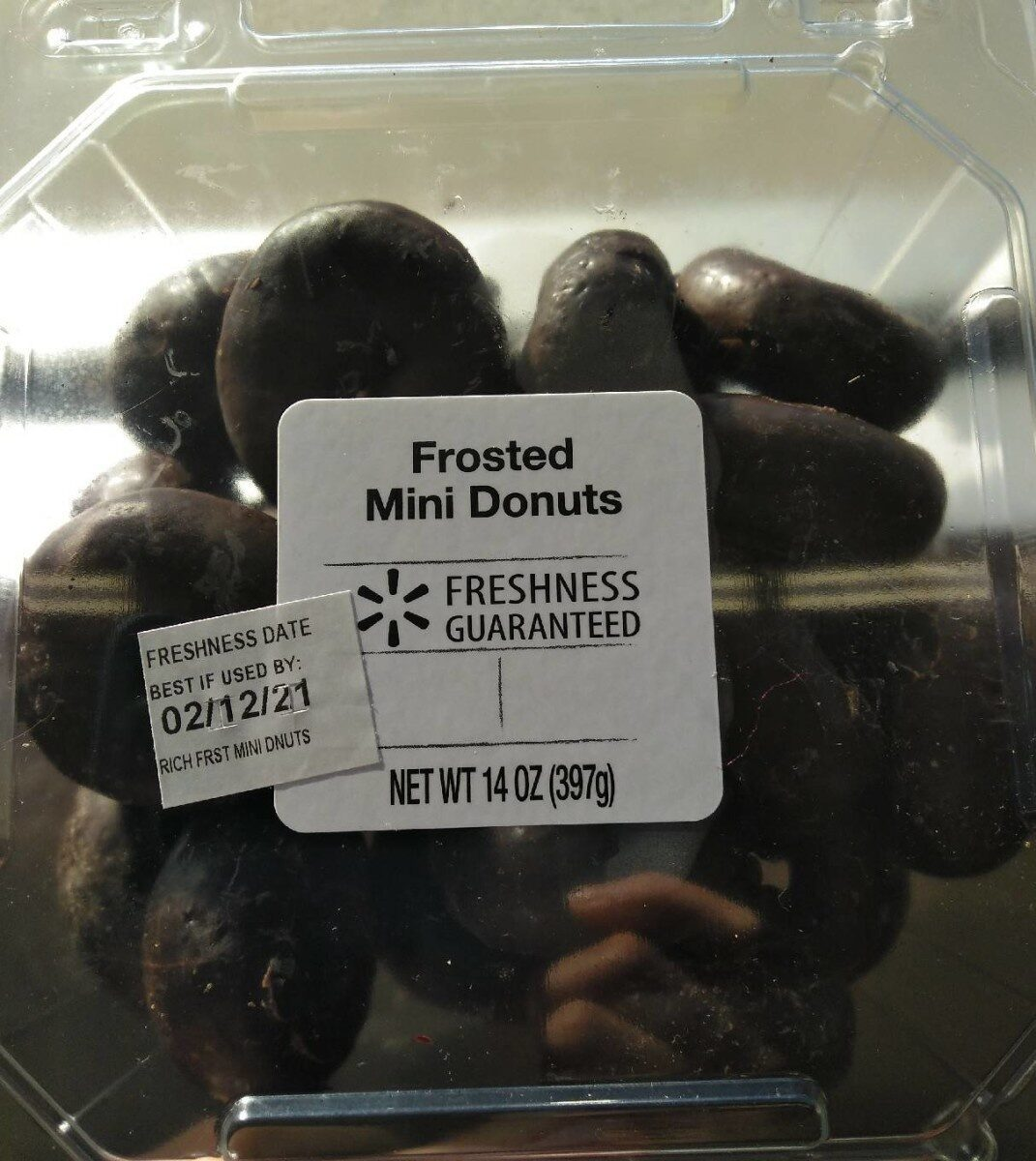 Frosted mini donuts - Product - en
