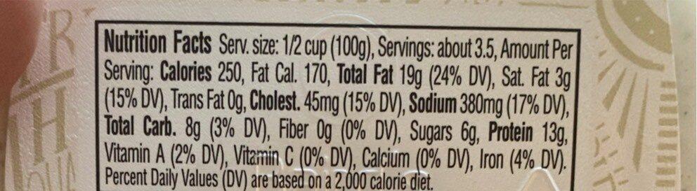 Chicken salad - Informations nutritionnelles - en