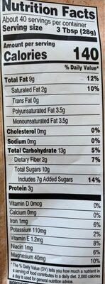 Triple berry nut trail mix - Nutrition facts - en