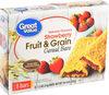 Fruit & Grain Bars - Product