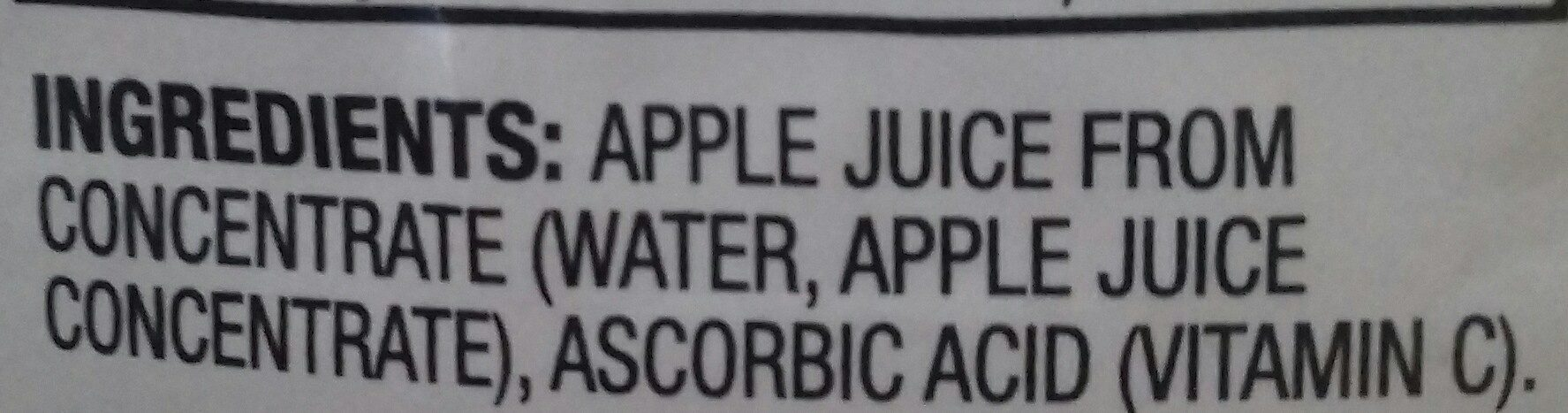 100% juice - Ingredients - en