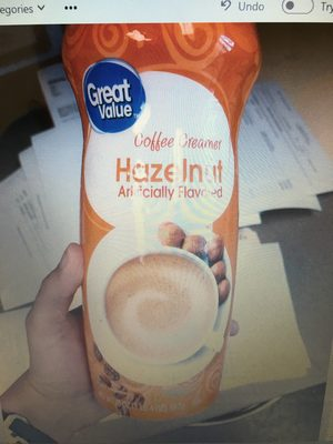 coffee Creamer, Hazelnut - Product