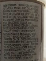 Potato crisps - Ingredients - en